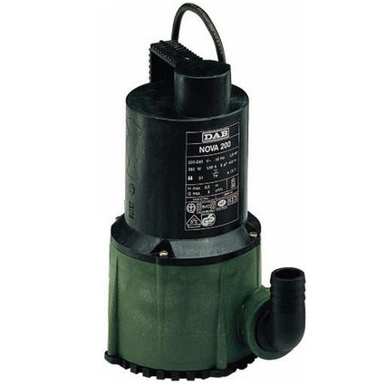 Dab Nova 200M Submersible Pumps 2640 gph (Without Floater)