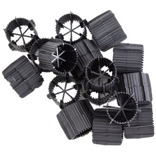 Kockney Koi Kintama Black Bio Ring Filter Media