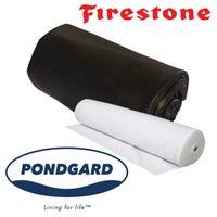 Firestone Pond Liner 10 Ft. Width With Underlay Felt