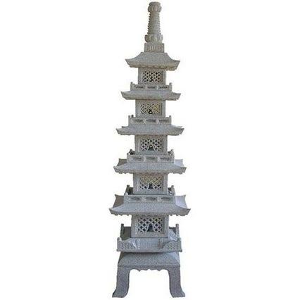 Japanese Granite Pagoda Lantern