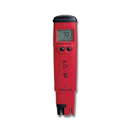 Hanna Ph and Temperature Meter